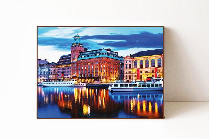 Quadro em Canvas Estocolmo