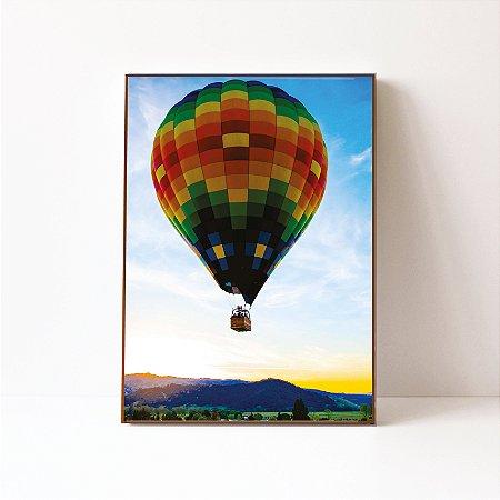Quadro em Canvas Ballon Napa