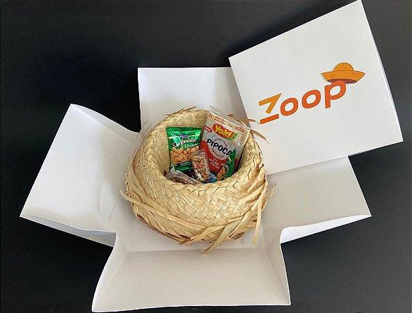 Caixa corporativa Zoop Junino
