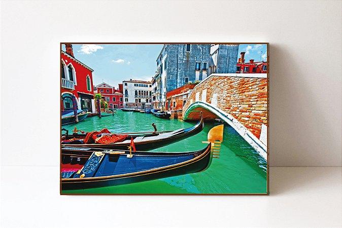 Quadro em Canvas Barcos