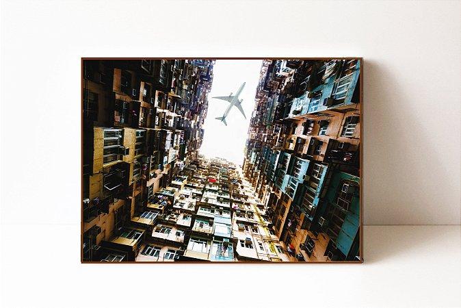 Quadro em Canvas Hong Kong