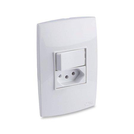 Interruptor com Tomada 10A - ForceLine