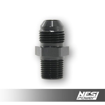 Niple 8AN x 3/8NPT Preto - NesiPower
