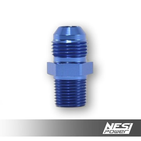 Niple 8AN x 3/8NPT Azul - NesiPower