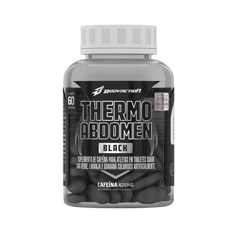 Thermo Abdomen Black 60 Tabletes