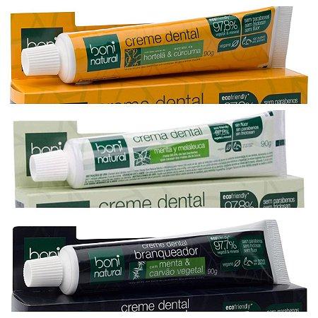 Creme Dental Boni Natural 90g