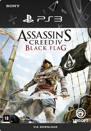 ASSASSINS CREED IV BLACK FLAG PS3 MÍDIA DIGITAL