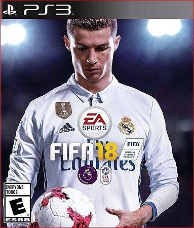 FIFA 18 PS3 Mídia Digital