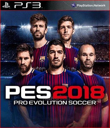 Pes 2018 Pro Evolution Soccer 18 Ps3 Psn Dublado Português PT