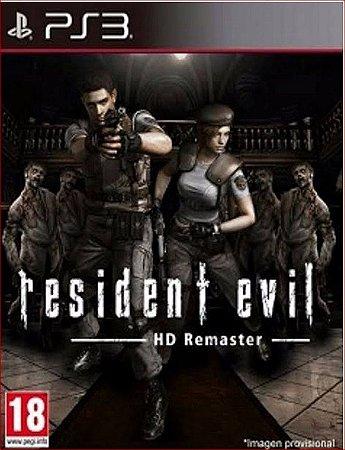 RESIDENT EVIL HD REMASTER PS3 PSN MÍDIA DIGITAL
