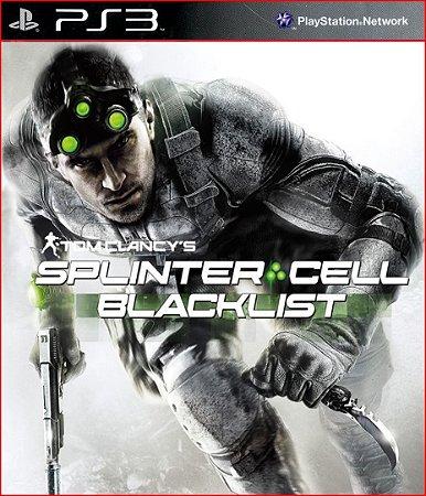 TOM CLANCY'S SPLINTER CELL BLACKLIST PS3 PSN MÍDIA DIGITAL