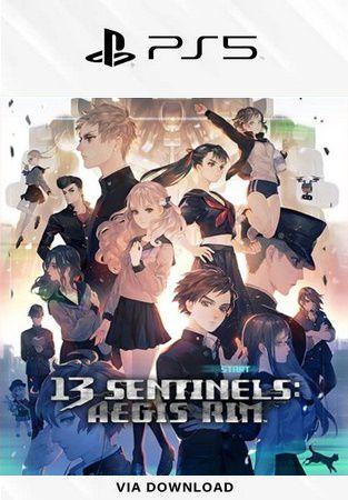 13 Sentinels Aegis Rim PS5 Mídia Digital