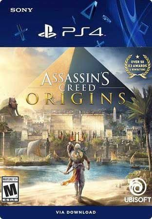 Assassin's Creed Origins ps4 midia digital