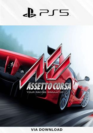 ASSETTO CORSA PS5 MÍDIA DIGITAL