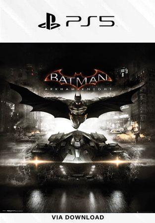 BATMAN ARKHAM KNIGHT PORTUGUES PS5 MIDIA DIGITAL