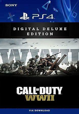 CALL OF DUTY WWll DIGITIAL DELUXE PS4 MÍDIA DIGITAL