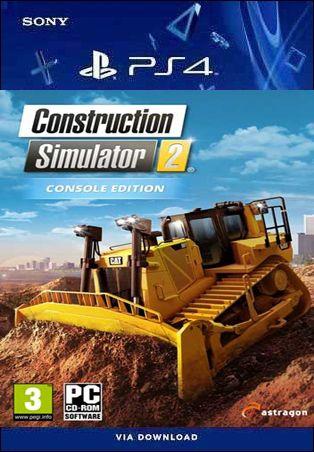 CONSTRUCTION SIMULATOR 2 US CONSOLE EDITION PS4 MÍDIA DIGITAL
