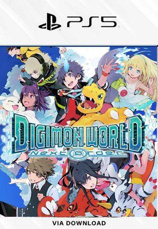 DIGIMON WORLD NEXR ORDER PS5 MÍDIA DIGITAL