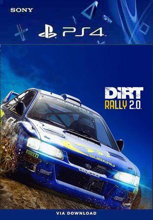 DIRT RALLY 2.0 PS4 MÍDIA DIGITAL