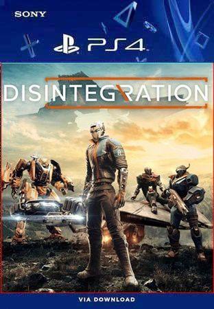 Disintegration ps4 mídia digital