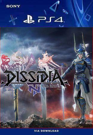 dissidia final fantasy nt ps4 psn mídia digital