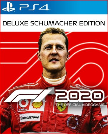 F1 2020 DELUXE SCHUMACHER EDITION PS4 MÍDIA DIGITAL