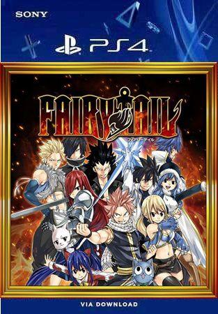 FAIRY TAIL PS4 MÍDIA DIGITAL