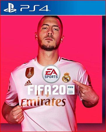 FIFA 20 PS4 MÍDIA DIGITAL PORTUGUÊS
