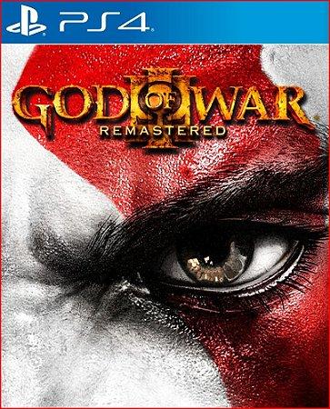 GOD OF WAR 3 REMASTERED PS4 MÍDIA DIGITAL