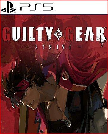 Guilty Gear -Strive- ps5 mídia digital