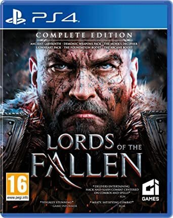 LORDS OF THE FALLEN COMPLETE EDITION PS4 MÍDIA DIGITAL