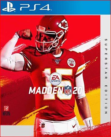 MADDEN NFL 20 SUPERSTAR EDITION PS4 MÍDIA DIGITAL PSN