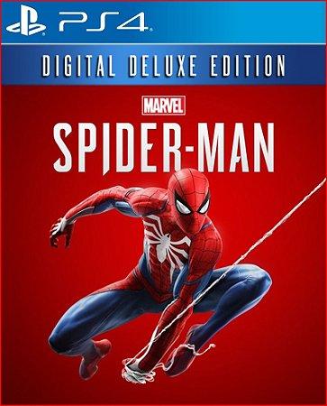 MARVEL'S SPIDER-MAN DIGITAL DELUXE EDITION PS4   PORTUGUÊS - MÍDIA DIGITAL PSN