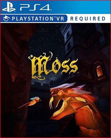 Moss vr Ps4 Mídia Digital