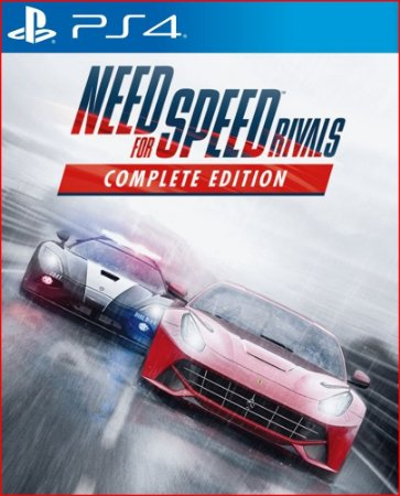 NEED FOR SPEED RIVALS COMPLETE EDITION PS4 MÍDIA DIGITAL