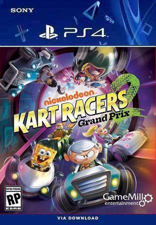 NICKELODEON KART RACERS 2 PS4 MÍDIA DIGITAL
