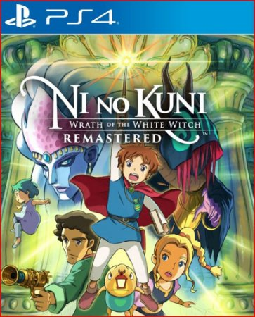 NI NO KUNI WRATH OF THE WHITE WITCH REMASTERED PS4MÍDIA DIGITAL