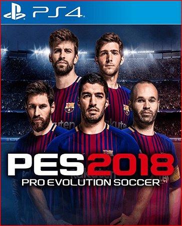 PRO EVOLUTION SOCCER 2018 PS4 MÍDIA DIGITAL PORTUGAL