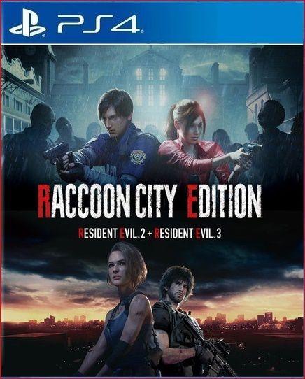 RACCOON CITY EDITION PS4 MÍDIA DIGITAL