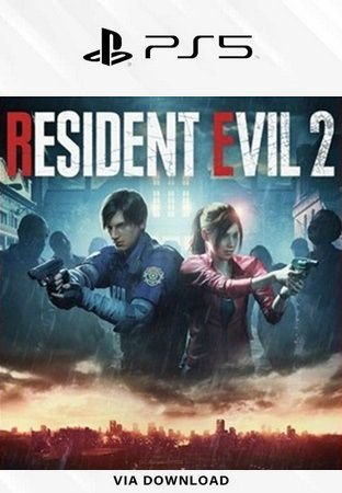 Resident Evil 2 ps5 psn mídia digital