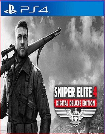 SNIPER ELITE 4 DIGITAL DELUXE EDITION PS4 MÍDIA DIGITAL