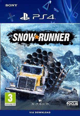 SNOWRUNNER PS4 MÍDIA DIGITAL