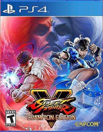 STREET FIGHTER V CHAMPION EDITION PS4 MÍDIA DIGITAL