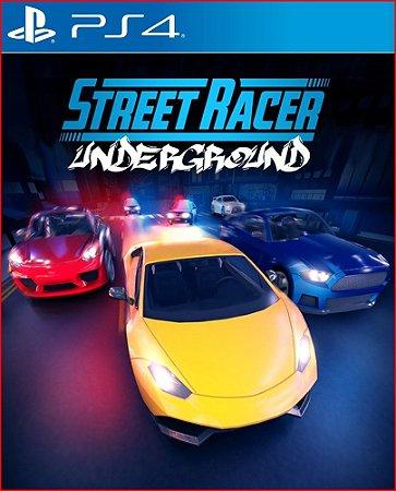 STREET RACER UNDERGROUND PS4 MÍDIA DIGITAL