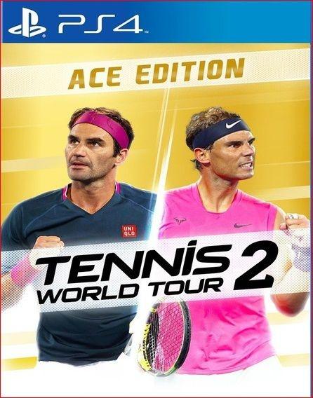 TENNIS WORLD TOUR 2 ACE EDITION PS4 PSN MÍDIA DIGITAL