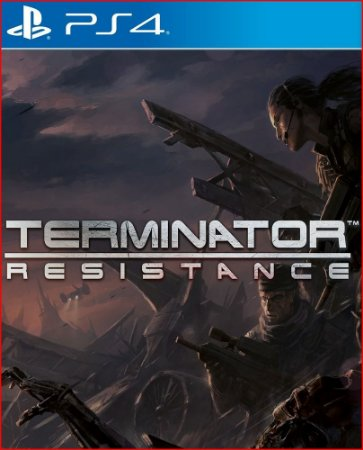 TERMINATOR RESISTANCE PS4 MÍDIA DIGITAL