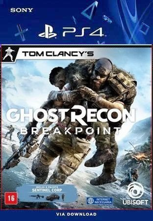 Tom Clancy's Ghost Recon Breakpoint ps4 midia digital