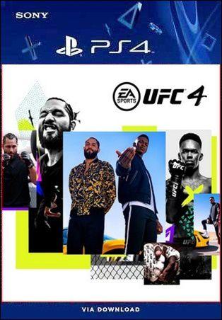 UFC 4 PS4 PSN MIDIA DIGITAL