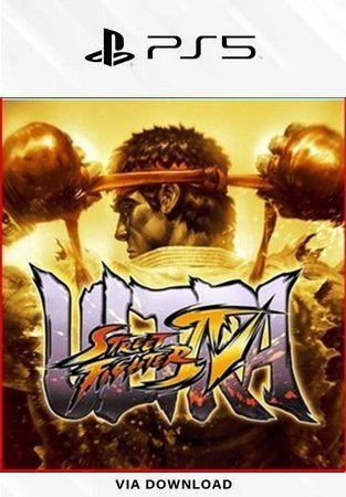 ULTRA STREET FIGHTER IV PS5 PSN MÍDIA DIGITAL