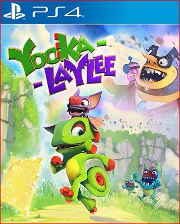 Yooka-Laylee ps4 midia digital